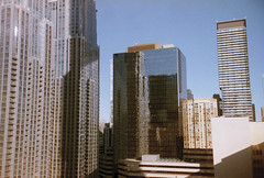 View from Chelsea Hotel, Toronto (Lumad21) Tags: toronto canada 35mm olympus pointandshoot architecture chelseahotel downtown building analog streetphotography