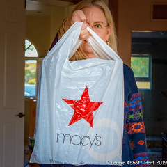 -20191125It's In the Bag1-Edit (Laurie2123) Tags: laurieabbotthartphotography laurietakespics laurieturner laurieturnerphotography laurie2123 macys odc odc2019 ourdailychallenge selfportrait