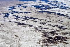 Bijou Basin (zeesstof) Tags: aerial aerialview businesstrip commercial commercialflight flight geo:lat=3924538231 geo:lon=10419586208 geotagged houstontodenver iahtoden triptodenver unitedairlines viewfromwindow zeesstof