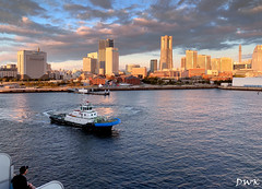 A Morning in Yokohama (Don's PhotoStream) Tags: travel morning cruise ship yokohama iphonex japan port