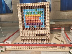 Apple IIe (Kevin Borland) Tags: canstruction art cannedgoods districtofcolumbia usa