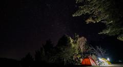 Camp Under Stars (Gmoz.TW) Tags: capm star night 郡大林道 winter 信義鄉 露營 星空 營地 營燈 m45 郡大山