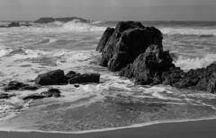 Surf (bingley0522) Tags: nikkormatftn micronikkor55mmf35 fp4 ilfordfp4 diafine epsonv500scanner pacificocean coastalcalifornia pescadero pescaderostatebeach surf autaut
