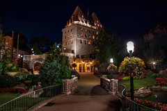 Canadian Castle (mwjw) Tags: epcot epcotcenter disney disneyworld orlando florida wdw markwalter mwjw nikond850 nikon24120mm night nightshot longexposure canada