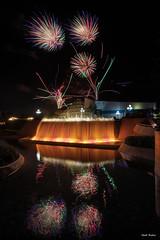 Epcot Forever (mwjw) Tags: epcot epcotcenter disney disneyworld orlando florida wdw markwalter mwjw nikond850 nikon24120mm night nightshot longexposure epcotforever fireworks