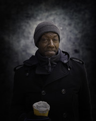Verdell (mckenziemedia) Tags: portrait portraiture face smile cap hat stockingcap streetphotography street chicago city urban people humanity