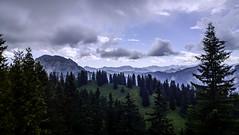 Tegelbergbahn, Schwangau, Germany (Jenny McNeilly) Tags: tegelbergbahn schwangau germany alps bavaria landscape mountain evergreen fir forest bavarian sky cloud pine alpine