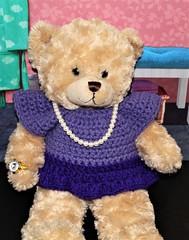 HTBT - Real Jewelry Month (marilyntunaitis) Tags: happyteddybeartuesdays htbt stuffedanimal teddybear plush