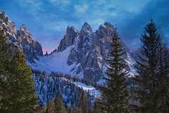 Dolomite Dream (l.cutolo) Tags: tlp bluehours ononeraw2020 ngc cime southtyrol ai saturation scape misurina sonyalpha onesoftware alps auronzodicadore mountains snow sony landscape dolomites lucacutolo luminar4 italy vignette worldtrekker purplesky frozenlake belluno winter pink onone peaks worldtrekking sonya7iii sonyfe70200mmf40oss