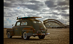 Docs Surf Shop (Whitney Lake) Tags: 299 explore surfboard hotrod beach shore rollercoaster southjersey eastcoast jerseyshore newjersey customsbythesea wildwoods ford fastback 2019 theraceofgentlemen trog