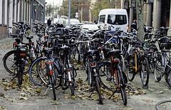 City life - #Transport (aenee) Tags: aenee nikond7100 nikkor50mm118d crazytuesday transport groningen bikes fietsen pse14 20191122 dsc5215