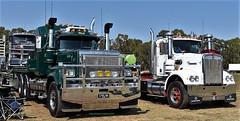 Mack and Kenworth (secret squirrel6) Tags: secretsquirrel6truckphotos craigjohnsontruckphoto australiantrucks bigrigs worldtrucks trucks truckphotos truckshow classic mack trucking