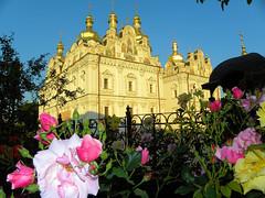 DSCN3245 (alainazer) Tags: kiev ukraine eglise chiesa church architecture ciel cielo sky fiori fleurs flowers bâtiment