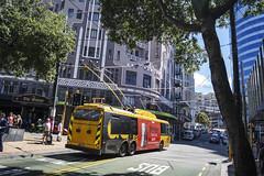 Manners Street - Wellington (andrewsurgenor) Tags: trolleybuses trolleybus trolleycoach trolleybuswellington trolebús trolejbusowy trolejbus trolle obus filobus nzbus gowellington
