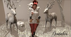 winterwonderland (Persy(Paradise Bernitz)) Tags: homedecor holidays queenz beautykartel white outside snow winter