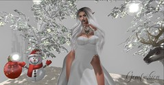 LetItSnow (Persy(Paradise Bernitz)) Tags: homedecor holidays queenz beautykartel white outside snow winter
