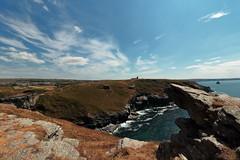 Tintagel (Mike.Dales) Tags: tintagel atlantic ocean northcornwall cliff rocks england englishheritage tintagelcastle kingarthur legend