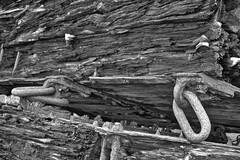 Cast (@WineAlchemy1) Tags: orkney churchillbarriers concrete casts moulds wood decay rust scotland worldwarii construction protection shoreline blackandwhite nerosubianco blancoynegro noiretblanc monochrome texture closeup