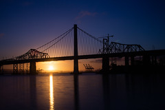 But I Guess It Was Just Someone Who Felt a Lot Like I Remember You (Thomas Hawk) Tags: america bayarea baybridge california sf sfbayarea sanfrancisco usa unitedstates unitedstatesofamerica bridge sunrise fav10 fav25 fav50 fav100