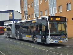 NLD Qbuzz 7508 ● Groningen Station (Roderik-D) Tags: 7508 mercedesbenz citaro3 25bnx7 articulatedbus dieselbus automatictransmission 3axle 3doors streeklijn189 644133 qbuzz75017522 2019 gelenkbus geledebus