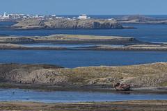 Wrecked near Stykkishólmur (Ian@NZFlickr) Tags: stykkishólmur sea peninsula boat wreck iceland