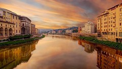 Firenze - Italy (michele_carbone) Tags: firenze italia italy landscape florence arno river water