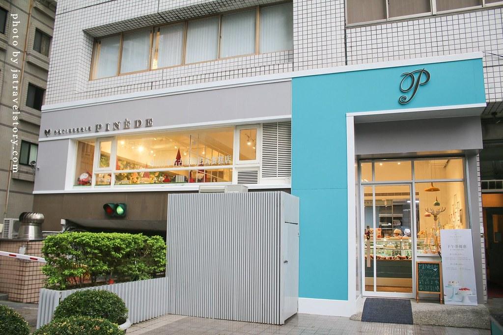 PINEDE彼內朵 來自名古屋的法式甜點店,水果千層酸甜爽口,下午茶套餐200元起!【捷運市政府】 @J&A的旅行