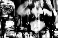 Welcome to Fabulous Las Vegas - 8 of 21 (draketoulouse) Tags: las vegas lasvegas casino newyork strip downtown fremont blackandwhite monochrome people street streetphotography slot night city dancer
