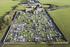 Lislaughtin Abbey, Kerry (Sean Hartwell Photography) Tags: lislaughtin abbey church graveyard burialground ruins abandoned kerry ireland drone aerial dji mavicpro