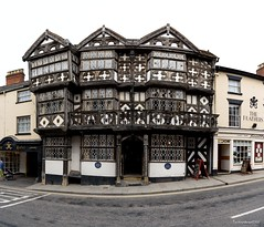 Feathers Hotel, Ludlow (technodean2000) Tags: feathers hotel ludlow tudor architecture it is noted for its jacobean furnishingsii 2 grade i listed building ©technodean2000 lr ps photoshop nik collection nikon technodean2000 flickr photographer d810 wwwflickrcomphotostechnodean2000 www500pxcomtechnodean2000 technodean2000yahoocou