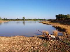 Irrigation pump in Huai Ian 1 (SierraSunrise) Tags: thailand phonphisai nongkhai isaan esarn pump irrigation farming agriculture tiller