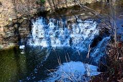 Waterfall in southwest Ohio (durand clark) Tags: waterfall creek sharonwoodspark sharonvilleohio buckeyefallstrail southwestohio hike nature water nikonz6mirrorless nikon2470f4s gorge