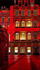 Christmas decoration in Cartier, London. (Vel_robbie) Tags: london londonstreets londonphotographer londonphotography londoner christmas lights christmasdecoration city shopping gifts redisacolour red street exclusiveshops becreative decor cartier boutique beinspired