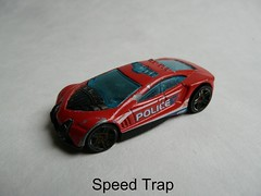Hot Wheels® 2013 - 5-Pack Police Pursuit №X9852 - SPEED TRAP Thailand (Xerocomis) Tags: diecast hotwheels speedtrap 2013 5pack police