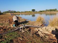 Irrigation pump in Huai Ian 3 (SierraSunrise) Tags: thailand phonphisai nongkhai isaan esarn pump irrigation farming agriculture tiller