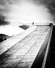 ON TOP OF MAAT (bhs-photo) Tags: bnw monochrome schwarzweis noiretblanc street architecture maat lisbon lisboa minimal lightandshadow