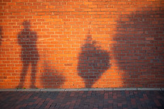 E1000629 (sswee38823) Tags: m10 m10leica leicam10 leicacameraagleicam10 leica leicam leicacamera rangefinder ma massachusetts shadow brick wall me selfie boston bostonma city longwarf waterfront waterfont photography photograph photo seansweeney seansweeneyphotographer