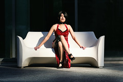 Ada Wong from Resident Evil 4 (Michael Aguilar Photography) Tags: cosplay oklahomacosplay oklahomacosplayer fuji adawong residentevil re4 residentevil4