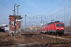 DB 143 809 - RB 18661 Wustermark - Potsdam Hbf  - Potsdam Hbf (Rene_Potsdam) Tags: potsdam brandenburg deutschland duitsland germany br143 europe europa treinen tren treni trenes züge spoorwegen railroad