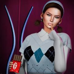 ♥ (♛Lolita♔Model-Blogger) Tags: lolitaparagorn lelutka glamaffair junkfood blog blogger blogs beauty bodymesh bento