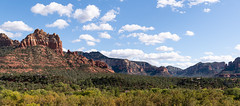 Sedona - Explore (Ron Drew) Tags: nikon d850 arizona sedona redrocks trees clouds mountains landscape valley