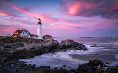 Some times you just got lucky (JohnNguyen0297 (busy - on/off)) Tags: maine portland longexposure sony sonyimages sunset landscape johndnphotography ngc