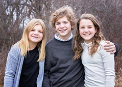 Siblings! (Jenny Onsager) Tags: siblings brother sisters teens athletes cutekids smiles threepeople happy love