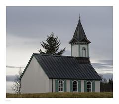 Iceland 2019 (Michael Fleischer) Tags: iceland autumn colour contrast sky cloud church landscape nikon d810 nikkor 70200mm f40 þingvellir