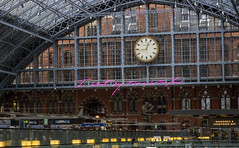 """""""I Want My Time With You"""" by Tracey Emin, St. Pancras Station (IFM Photographic) Tags: img1183a canon 600d ef2470mmf28lusm ef 2470mm f28l usm lseries london londonboroughofcamden camden stpancras saintpancras station iwantmytimewithyou traceyemin art"""