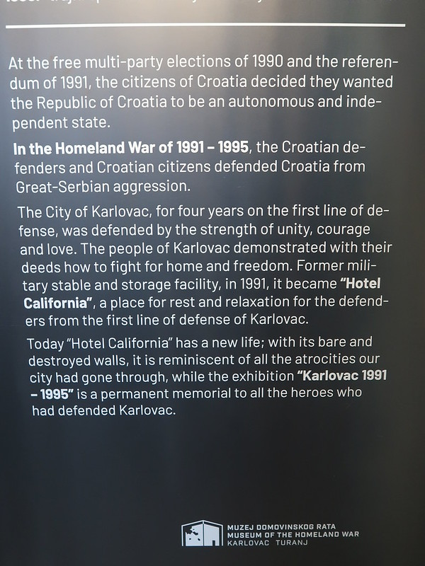 Zagreb Day 2 and the Homeland War Museum in in Karlovac Croatia.