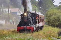 Locomotora 620 | Estación Los Lagos (Felipe Radrigán) Tags: tren ferrocarril train railroad railway locomotora locomotive 620 valdivia estacion vapor steam efe valdiviano chile antilhue losrios loslagos