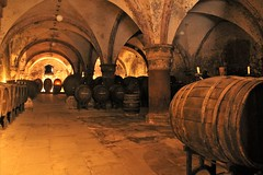 Wine cellar in the monastery (Kasimir) Tags: weinkeller wine monasterio kloster eberbach cellar