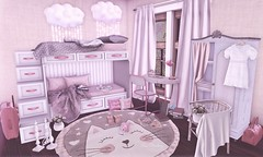 Dreaming near the clouds (Rose Sternberg) Tags: deco decor home furniture garden interior outdoor landscape second life november 2019 exclusive for your dreams bunk bed boys girls access refuge whimsy lighting sky twilight emma desk pink white chair lamp pencil holder travel journal serenity style evelyn dream wardrobe basin la vie en rose pot what next draped curtain acorn think luggage bag cushion camera chess piece aphrodite shop heart homes enamorarse popcorn folders infinite stephanies books bee designs cats nursery rug