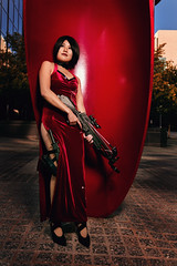 Ada Wong from Resident Evil 4 (Michael Aguilar Photography) Tags: cosplay residentevil residentevil4 adawong oklahomacosplay oklahomacosplayer